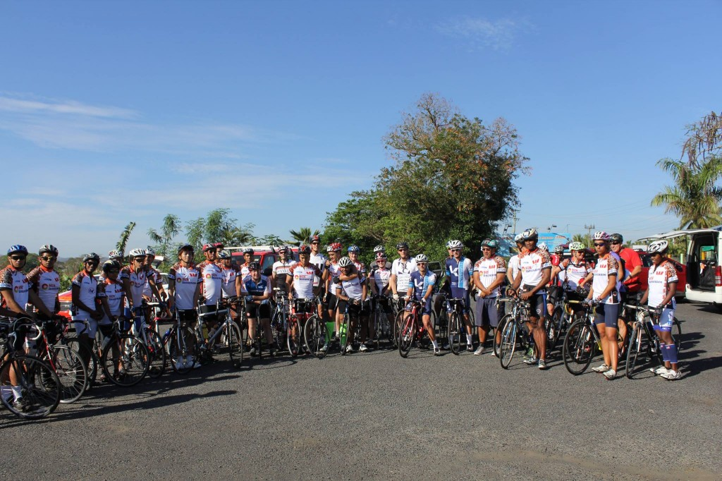 Just before race start of Stage 1 at Nadi